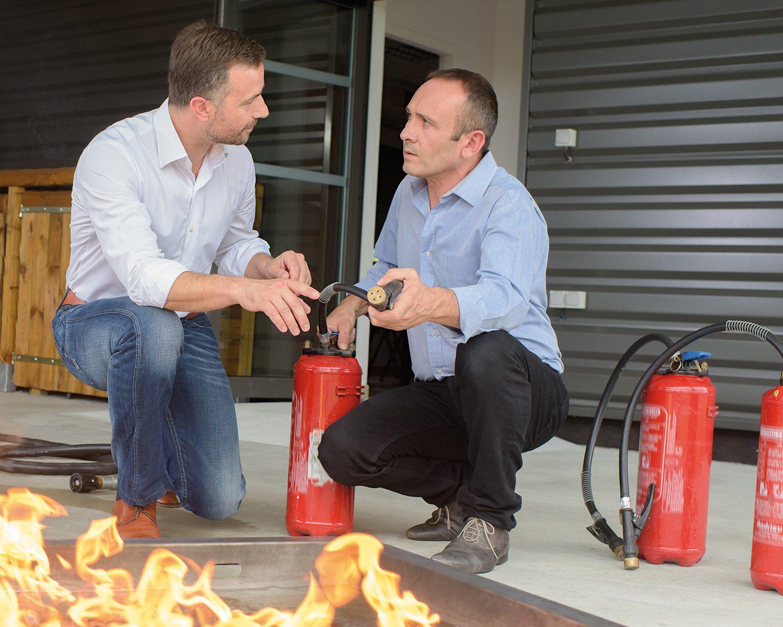 Jährliche Brandschutzunterweisung / BSU / Brandschutzhelfer